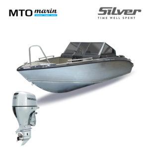 Silver Shark BRX + Honda 115