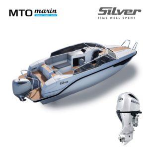 Silver Raptor + Honda 250